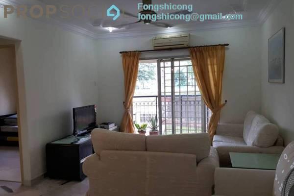 For Rent Condominium at Kenanga Apartment, Pusat Bandar Puchong Freehold Fully Furnished 3R/2B 1.4k