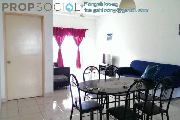 For Rent Condominium at Sri Ixora Apartment, Kajang Freehold Fully Furnished 3R/2B 1.2k