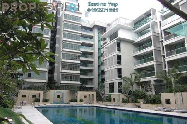 For Rent Condominium at U-Thant Residence, Ampang Hilir Freehold Semi Furnished 3R/3B 12k