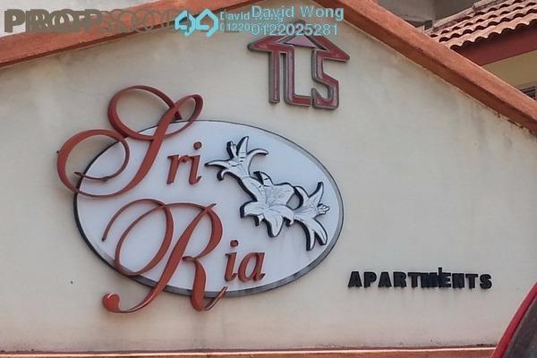 For Sale Apartment at Sri Ria Apartment, Kajang Freehold Semi Furnished 3R/2B 250k