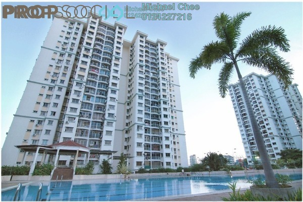 For Rent Apartment at Taman Kristal, Tanjung Tokong Freehold Fully Furnished 3R/2B 1.1k