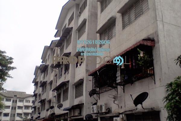 For Sale Apartment at Sri Cempaka Flat, Bandar Sri Damansara Freehold Semi Furnished 3R/1B 99k