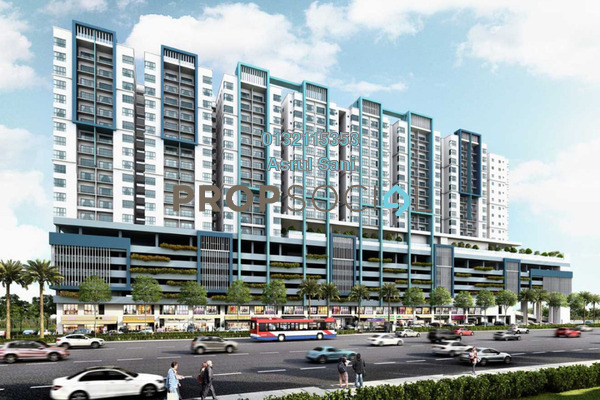 For Sale Shop at Metia Residence, Shah Alam Leasehold Unfurnished 0R/2B 1.31m