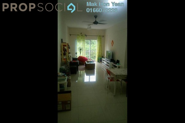 For Sale Condominium at Tiara Hatamas, Cheras Freehold Semi Furnished 3R/2B 380k