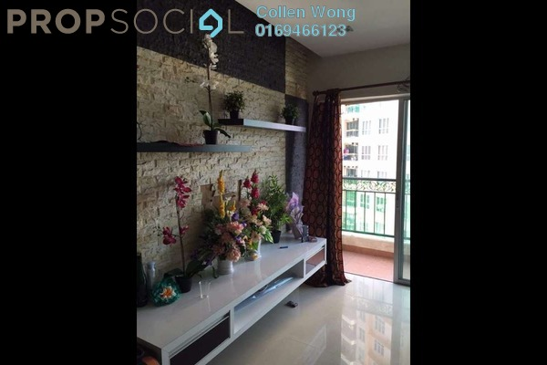 For Sale Condominium at Kuchai Avenue, Kuchai Lama Freehold Semi Furnished 3R/2B 530k