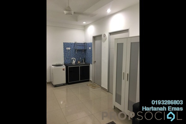 For Sale Condominium at Menara U2, Shah Alam Freehold Fully Furnished 2R/1B 320k
