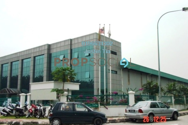 For Rent Factory at Hicom Glenmarie, Glenmarie Freehold Semi Furnished 0R/0B 116k