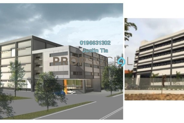 For Rent Factory at Section U8, Bukit Jelutong Freehold Semi Furnished 0R/0B 183k