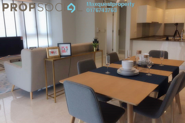 For Rent Condominium at The Sentral Residences, KL Sentral Freehold Fully Furnished 3R/4B 6k