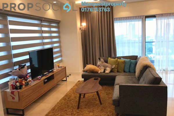 For Rent Condominium at The Sentral Residences, KL Sentral Freehold Fully Furnished 3R/4B 8.8k