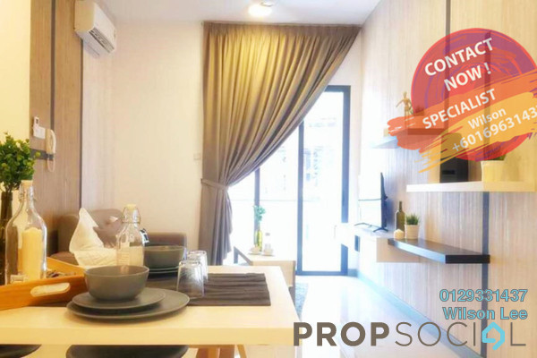 For Rent Condominium at South View, Bangsar South Freehold Fully Furnished 2R/2B 3.1k