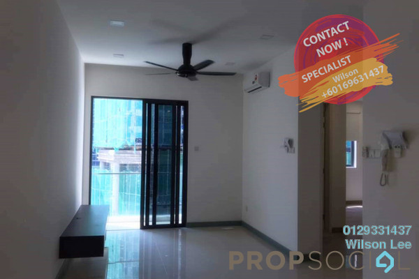 For Rent Condominium at South View, Bangsar South Freehold Semi Furnished 2R/2B 2.5k