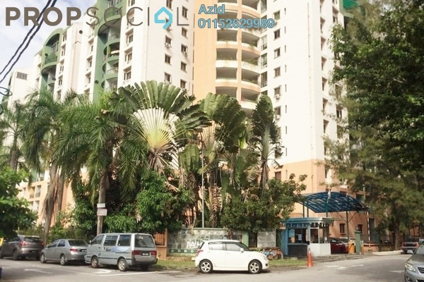 For Sale Condominium at City Garden Palm Villa, Pandan Indah Freehold Fully Furnished 3R/2B 420k
