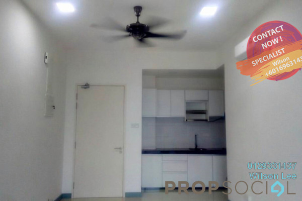 For Rent Condominium at South View, Bangsar South Freehold Semi Furnished 3R/2B 2.5k