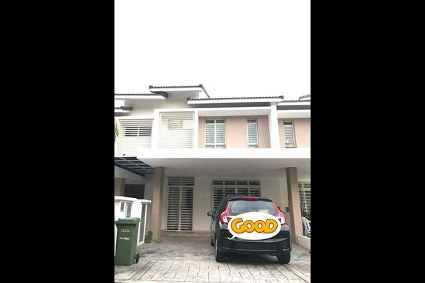 For Rent Terrace at Precinct 11, Putrajaya Freehold Semi Furnished 4R/3B 2.5k