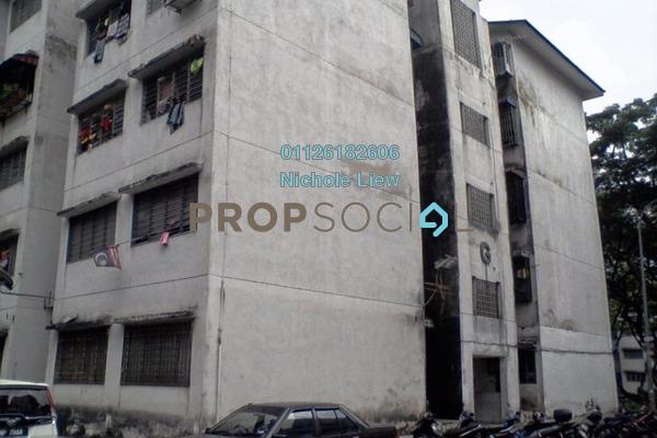 For Sale Apartment at SD11, Bandar Sri Damansara Freehold Semi Furnished 3R/1B 98.8k