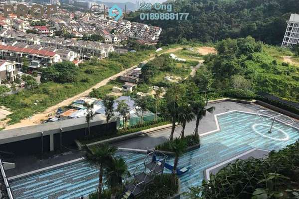 For Sale Condominium at Setia Pinnacle, Sungai Ara Freehold Semi Furnished 3R/2B 545k