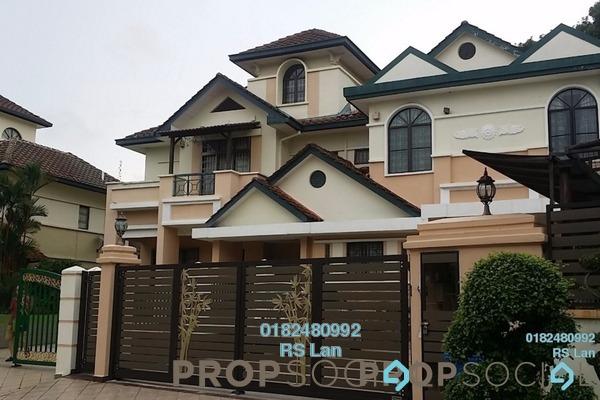 For Sale Semi-Detached at Oncidium Heights, Kota Kemuning Freehold Semi Furnished 10R/8B 4.8m
