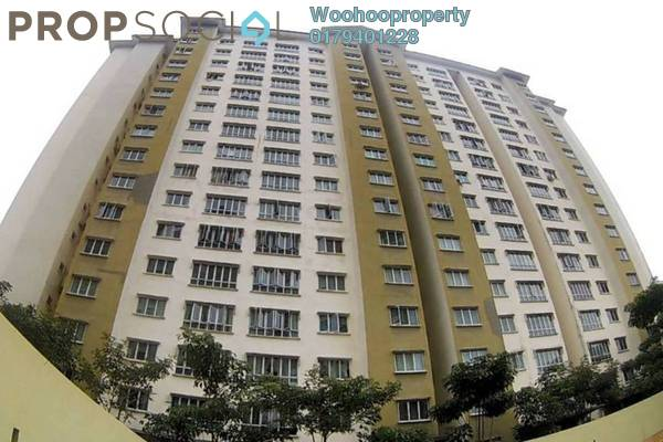 For Rent Condominium at Green Avenue, Bukit Jalil Freehold Semi Furnished 4R/2B 1.5k