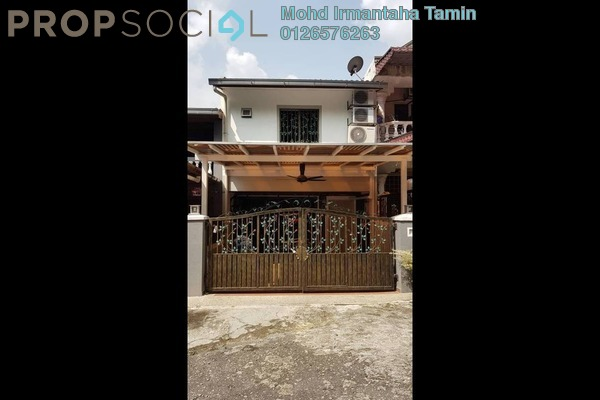 For Sale Terrace at Taman Bukit Anggerik, Cheras South Freehold Semi Furnished 3R/3B 398k