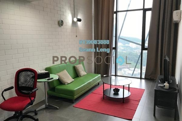 For Rent Condominium at Empire Damansara, Damansara Perdana Freehold Fully Furnished 1R/2B 1.65k