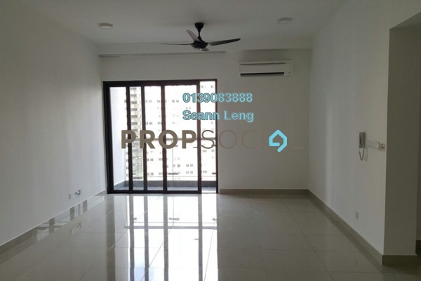 For Rent Condominium at Glomac Centro, Bandar Utama Freehold Semi Furnished 3R/3B 2.15k