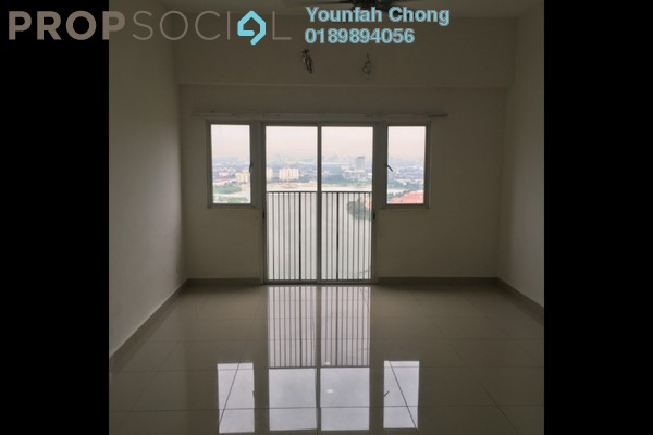 For Rent Condominium at The Wharf, Puchong Freehold Semi Furnished 3R/2B 1.3k