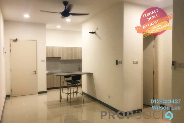 For Sale Condominium at South View, Bangsar South Freehold Semi Furnished 2R/2B 740k
