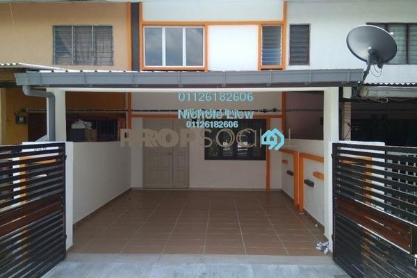 For Sale Link at Taman Jasmin, Kajang Freehold Semi Furnished 3R/3B 365k