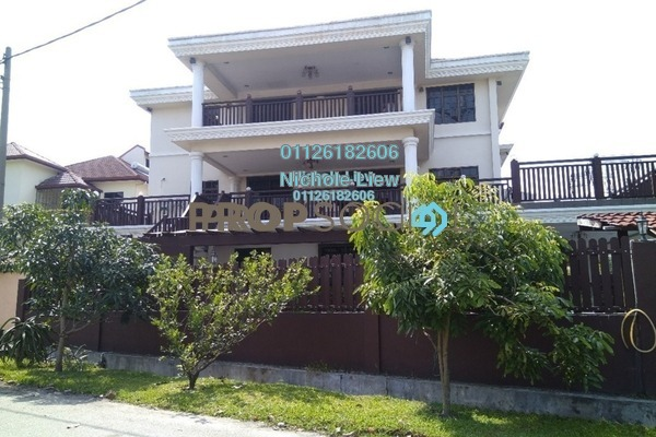 For Sale Superlink at Taman Bukit Segar, Cheras Freehold Semi Furnished 5R/5B 1.9m