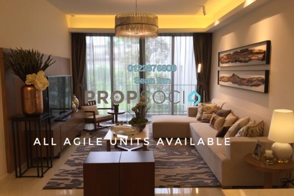 For Sale Condominium at Agile Mont Kiara, Dutamas Freehold Semi Furnished 3R/3B 1.3m
