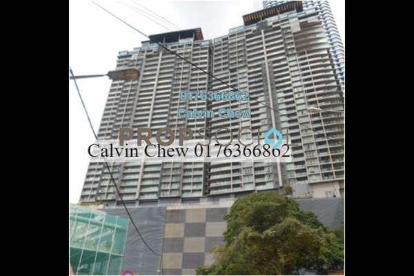 For Sale Serviced Residence at myHabitat, KLCC Freehold Unfurnished 2R/1B 864k
