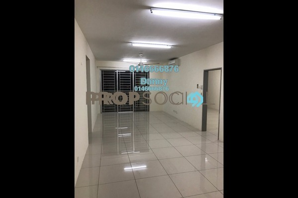 For Rent Condominium at Platinum Lake PV20, Setapak Freehold Semi Furnished 3R/2B 1.7k