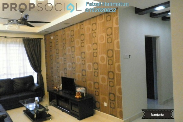 For Rent Condominium at Banjaria Court, Batu Caves Freehold Fully Furnished 3R/2B 1.9k