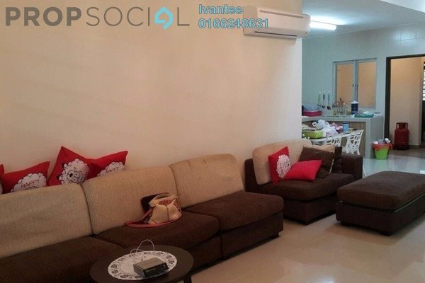 For Rent Semi-Detached at Taman Tasik Prima, Puchong Leasehold Fully Furnished 4R/3B 2.5k