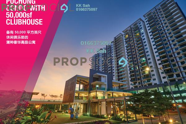 For Sale Condominium at Lakeside Terrace, Kota Kemuning Freehold Semi Furnished 5R/5B 700k