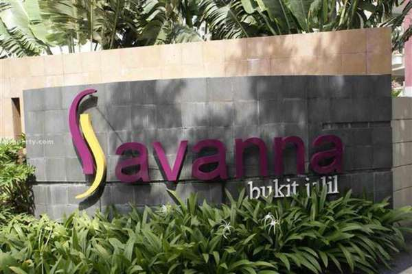 For Sale Condominium at Savanna 1, Bukit Jalil Freehold Semi Furnished 3R/2B 665k