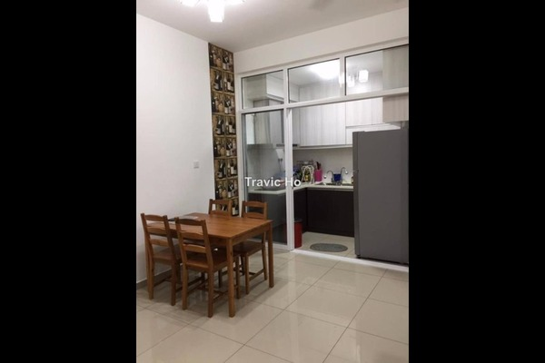 For Rent Condominium at Jadite Suites, Kajang Freehold Fully Furnished 2R/2B 1.6k