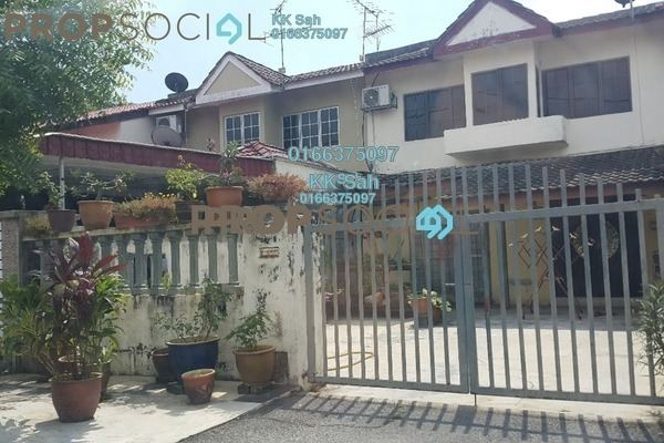 For Sale Terrace at Taman Sri Andalas, Klang Freehold Unfurnished 4R/2B 418k