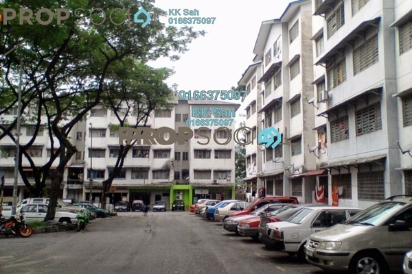 For Sale Apartment at Sri Cempaka Flat, Bandar Sri Damansara Freehold Unfurnished 3R/1B 99k