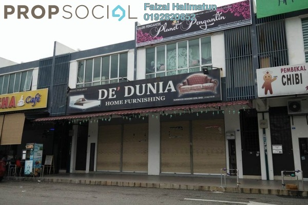 For Sale Shop at Taman Hulu Langat Jaya, Batu 9 Cheras Freehold Unfurnished 0R/0B 950k