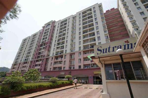 For Sale Condominium at Sutramas, Bandar Puchong Jaya Freehold Unfurnished 3R/2B 300k