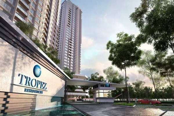 For Sale Condominium at Tropez Residences, Danga Bay Freehold Fully Furnished 2R/2B 668k