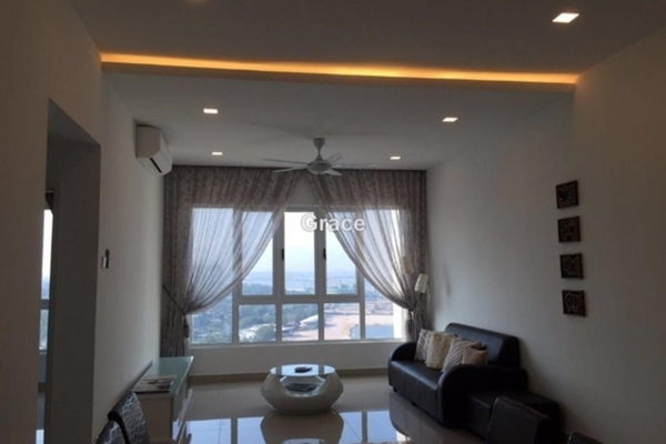 For Rent Condominium at Tropez Residences, Danga Bay Freehold Semi Furnished 3R/2B 2.6k