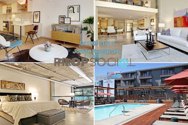 For Sale Condominium at Verde, Ara Damansara Freehold Semi Furnished 3R/2B 580k
