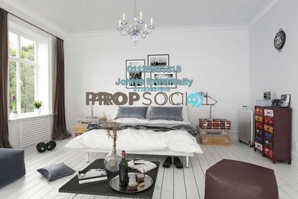 For Sale Condominium at PJ Midtown, Petaling Jaya Freehold Semi Furnished 1R/1B 369k