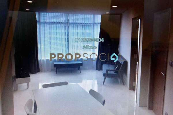 For Rent Condominium at Vortex Suites & Residences, KLCC Freehold Fully Furnished 2R/2B 3.1k