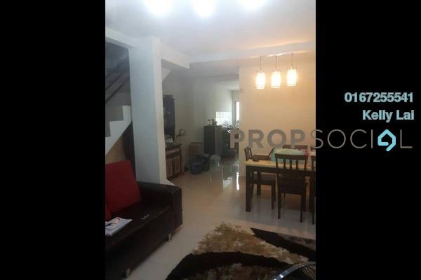 For Sale Terrace at Taman Selayang Utama, Selayang Freehold Semi Furnished 4R/2B 380k
