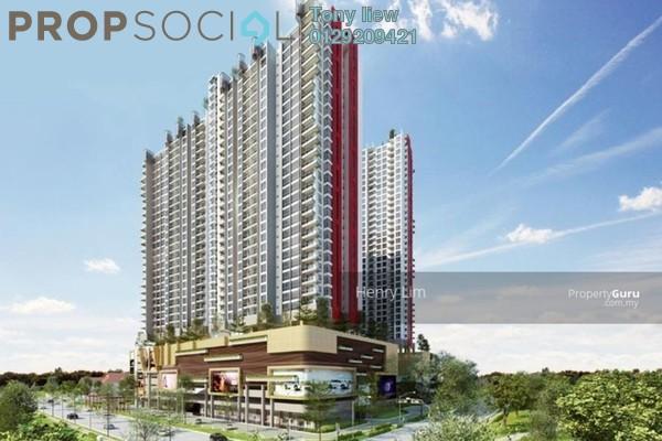 For Sale Condominium at Platinum Lake PV21, Setapak Freehold Semi Furnished 3R/2B 550k