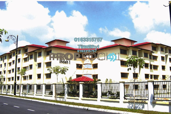 For Sale Apartment at Taman Taming Indah, Bandar Sungai Long Freehold Unfurnished 3R/2B 310k